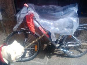 Bicicleta con CAPA.