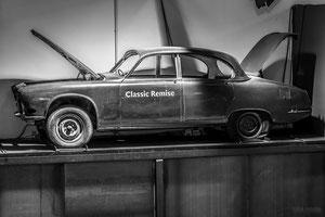 classic remise, düsseldorf, auto, oltimer, fotografie, monochrome, lost place, DJ, pictures, Dirk Just,