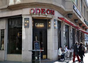 Das Caféhaus Odeon war und ist berühmt!