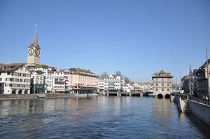 Zürich an der schönen Limmat
