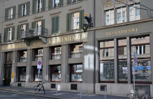 Das berühmte Restaurant Kronenhalle in Zürich