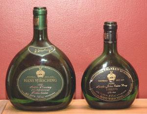 Un riesling et un chardonnay