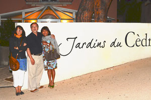 Christine, Yves et Carla (Port-Vendres)