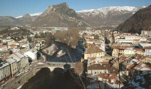 Pont sur l'Ariège, à Tarascon