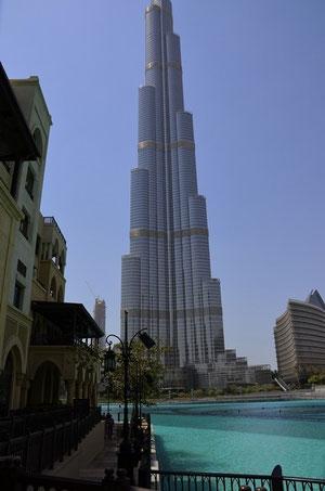Burj Khalifa mit Dubai Lake