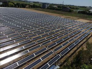光太陽農園「大網ソーラーシェアリング」