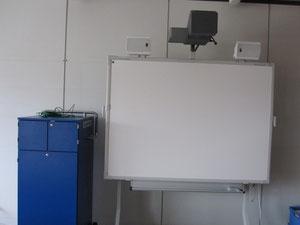 Laptopwagen und Activeboard