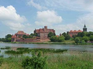 die Marienburg in Malborg