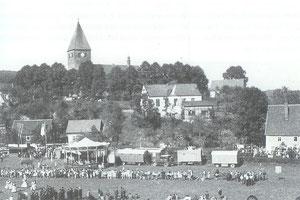 Das erste Schützenfest - mitten im Dorf