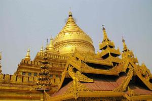 Tempelanlage bei Bagan, Myanmar (Burma)