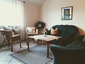 Aufenthaltsraum und Wohnzimmer