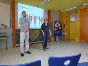 Unsere Teamer von der Friedrich-Ebert-Stiftung Berlin