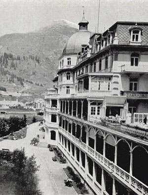 Internationales Sanatorium Dr. Philippi um 1912