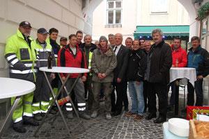 Die Sanierung der Unteren Landstraße wird beendet. Foto: Stadt Krems