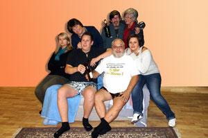 Die Theatergruppe Lerchenfeld spielt im Volkshaus. Foto: zVg