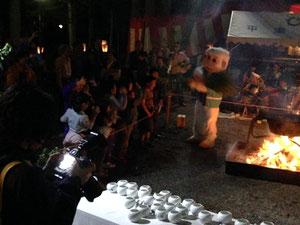 湯花まつり|平湯神社にて