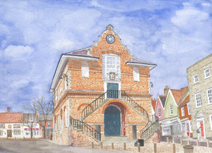 Woodbridge - The Shire Hall - on Market Hill