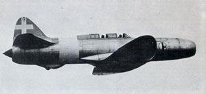 Il Ciampino-Caproni F 4 a reazione in versione prova