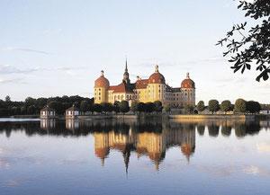 Jagdschloss Moritzburg, erbaut 1542, Umbau - August der Starke 1723