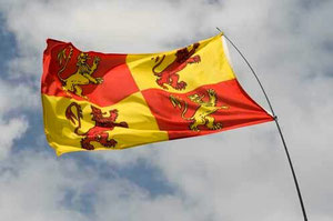Glyndwr's Flag / courtesy of Photolibrary Wales