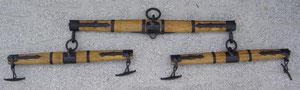 Nr. 49 Waage Holz schmiedebeschlagen von Alois Achatz Pferdeartikel / Horse Products