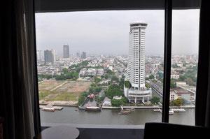 Blick aus dem 28. Stockwerk des Sheraton