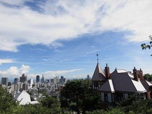 神戸風景写真異人館からみなと神戸