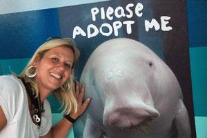 Unser Adoptiv-Dugong