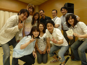 【ハーモニカのど自慢♪】 『嵐山スペシャルバンド』と、台湾から来日された『Afternoon Tree』の皆さん