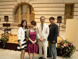 トンボ楽器の社長御夫妻が聴きにいらしてくださいました。