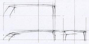 図2)三面図