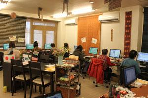 春日井市パソコン教室プリンセス 授業風景