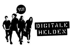 Das Logo der Digitalen Helden