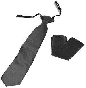 corbata laboral antracita
