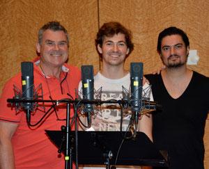 With Valer Sabadus and George Petrou at Megaron -Athens-