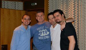With Franco Fagioli, Giovanni Prosdocimi and George Petrou at Megaron - Athens