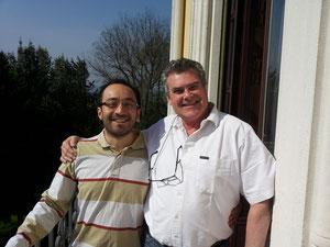 With Riccardo Minasi in Lonigo