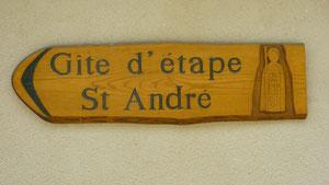 Saint andré,saint chely d'aubrac,compostelle,gr65