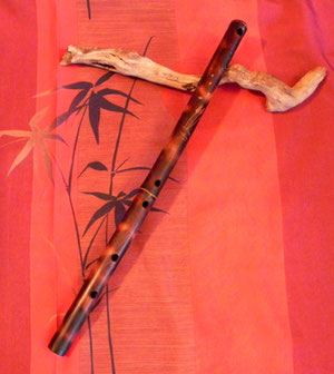 Asian Meditation Flute in C