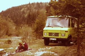 Der grüne Uri, 1975–1979 – vorne im Bild: Steffi