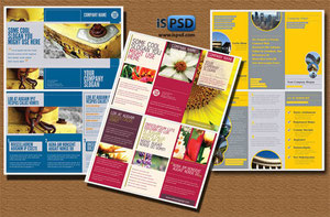 Colleccion De Plantillas Para Brochures En PSD