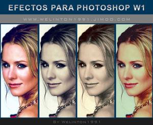 Efectos Para Photoshop W1