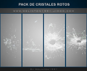 Pack De Cristales Rotos W1,photoshop · Diseños · Packs