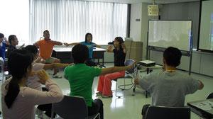 竹尾先生による実習