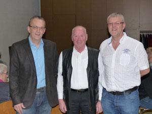 von links: Michael Dahm, Karl Schäfer und Karl-Horst Schäfer