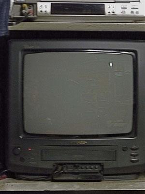 14インチのテレビ