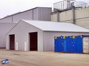Stahlhallen aller Art ob isoliert oder unisoliert