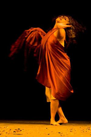Susana Nicolalde en 'Cordeles del Tiempo'. Foto de Christian Pérez.