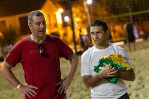 Stefan Heins (li.), der erste Vorsitzende des Vereins Tor zur Hoffnung e.V. gemeinsam mit Dito, dem Kopf und Herz des Projektes vor Ort in Fortaleza