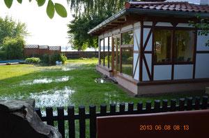 Hochwasser 2013 Barby Saale